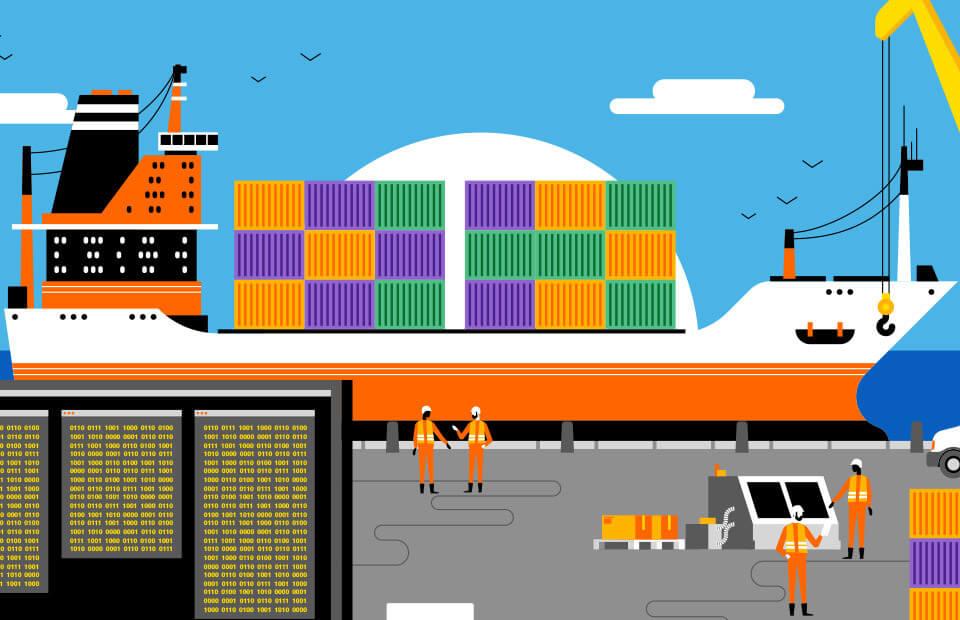 Blockchain : améliorer l'efficacité de la chaîne d'approvisionnement du commerce maritime - Hello Future Orange