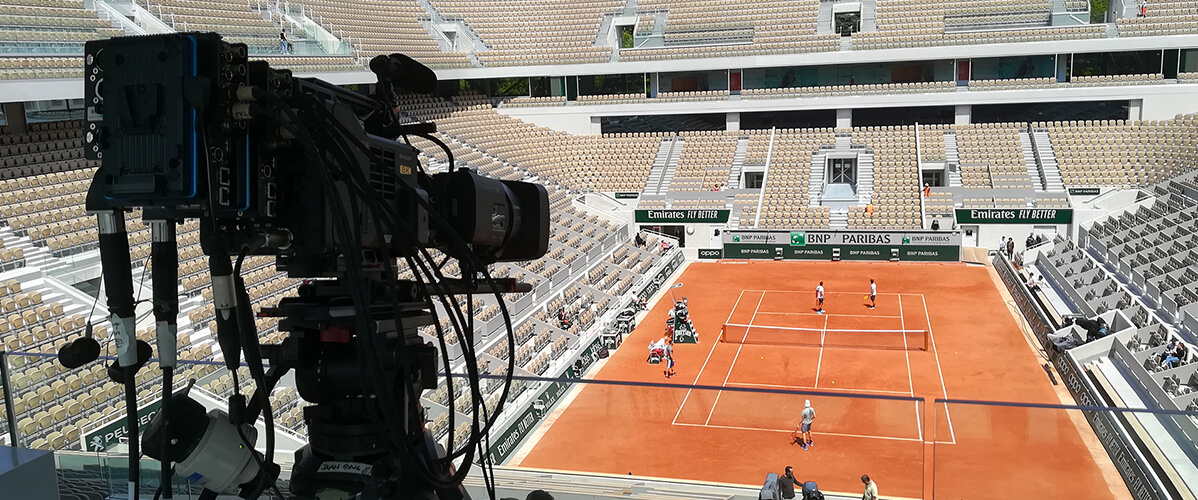 At Roland-Garros, the future is now: Orange unveils new video technology with 5G